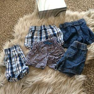 18M Baby Boy Shorts Lot. Garanimals and Carter's.